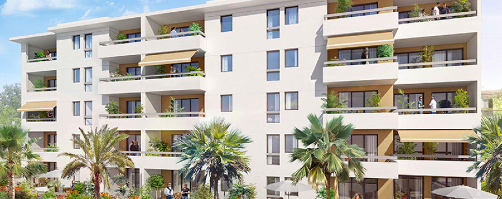 Marseille : programme immobilier neuve « Village Méditerranée » en Loi Pinel (4)