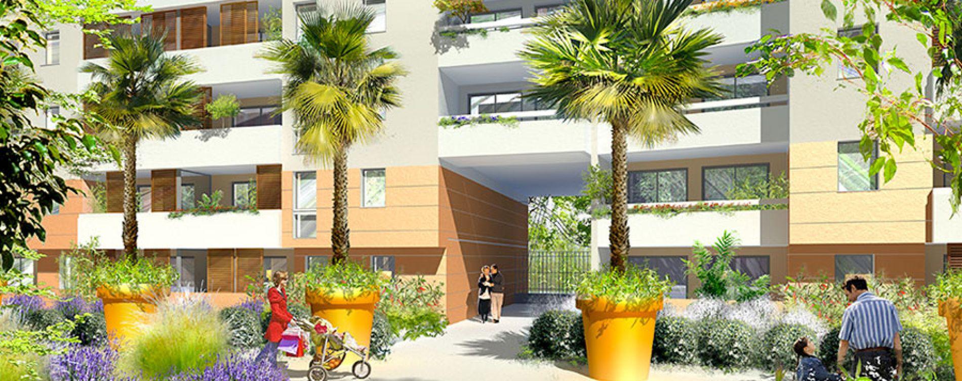 Marseille : programme immobilier neuve « Village Méditerranée » en Loi Pinel (5)