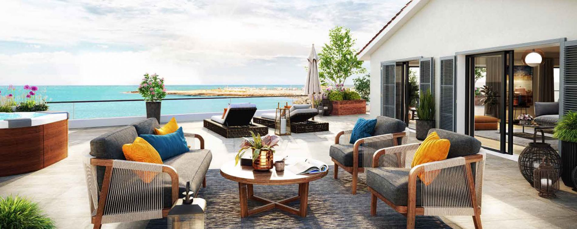 Martigues : programme immobilier neuve « Corniche 180 » (2)