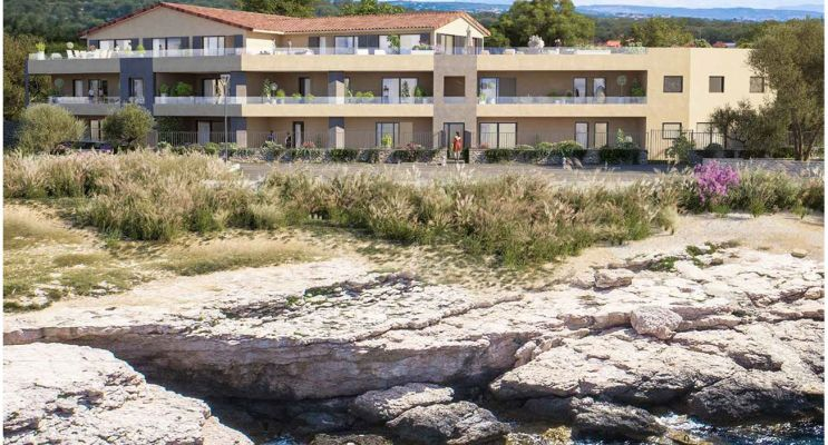 Photo du Résidence « Corniche 180 » programme immobilier neuf en Loi Pinel à Martigues
