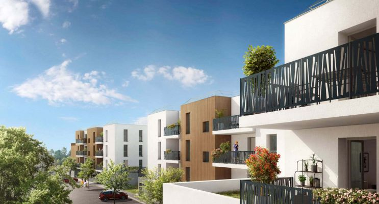 Martigues : programme immobilier neuf « Le Clos des Oliviers » en Loi Pinel