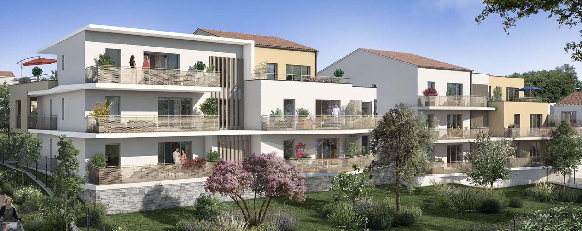 Meyreuil : programme immobilier neuve « Résidence Terra Verde » en Loi Pinel