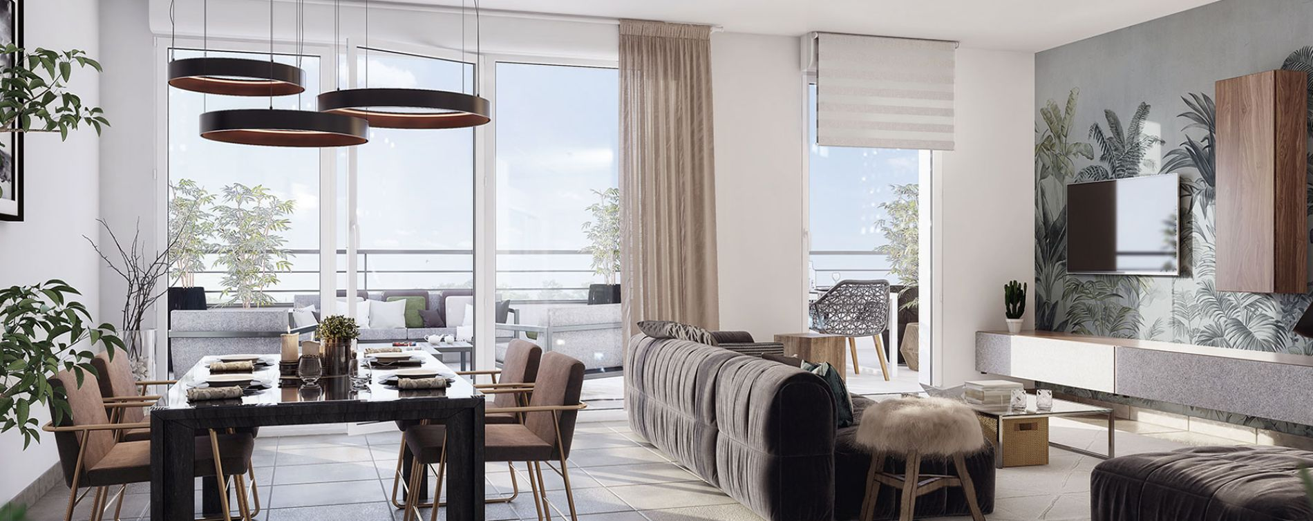 Meyreuil : programme immobilier neuve « Résidence Terra Verde » en Loi Pinel (2)