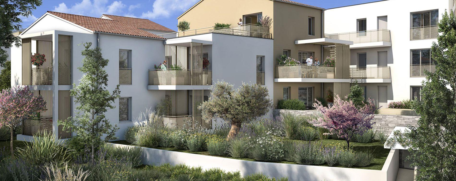 Meyreuil : programme immobilier neuve « Terra Rosa » en Loi Pinel