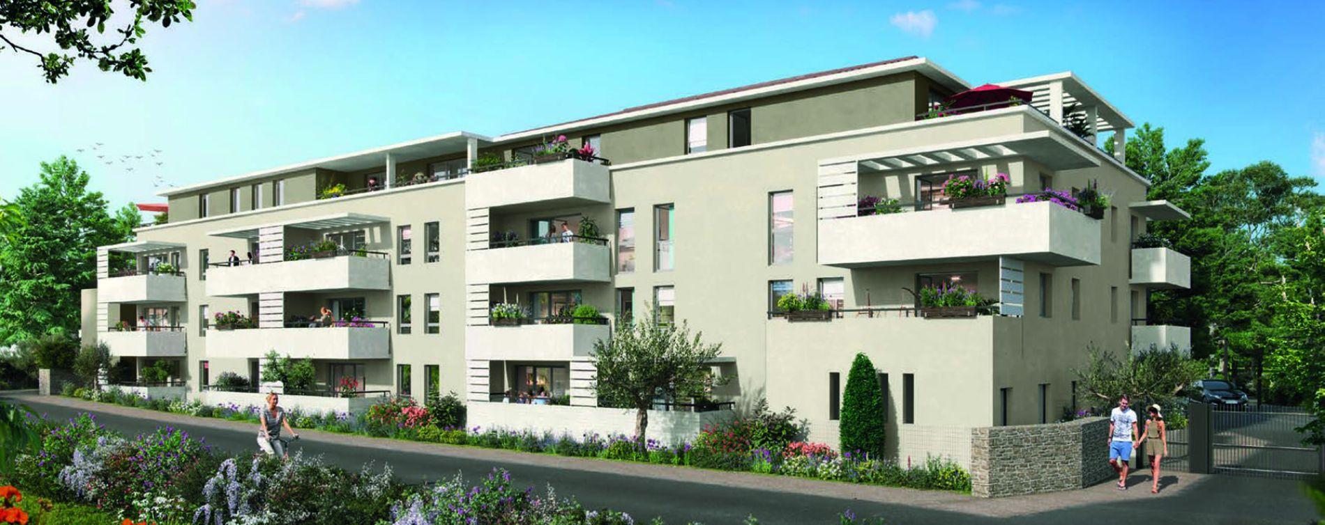 Pélissanne : programme immobilier neuve « Les Allées Douces » en Loi Pinel