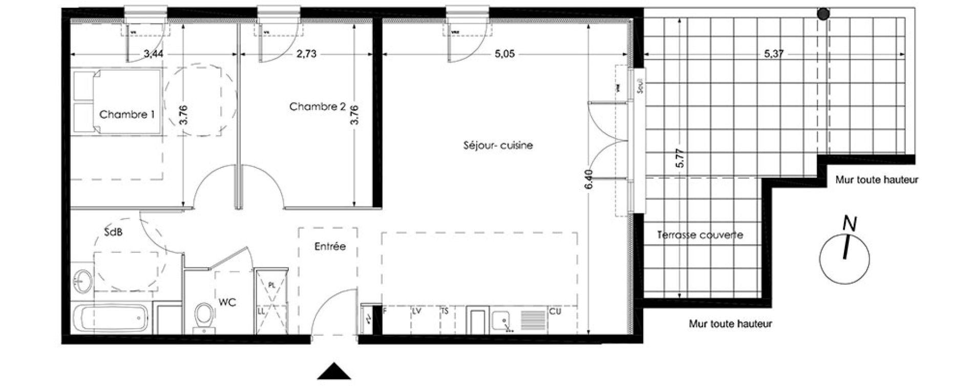Appartement T3 De 70 50m2 2ème étage E Nuances De Provence