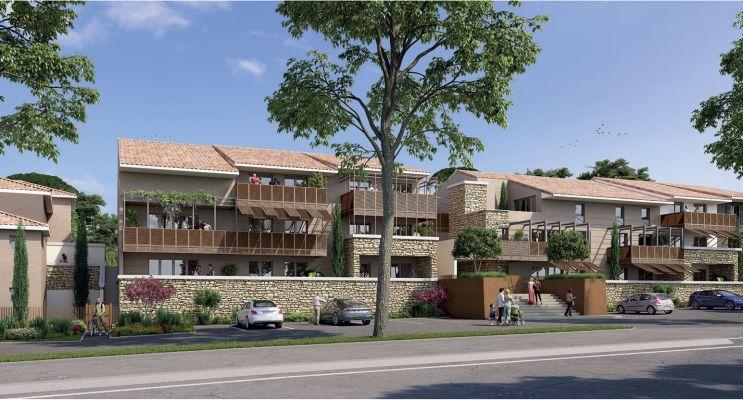 Résidence « Nuances De Provence » programme immobilier neuf en Loi Pinel à Peynier n°1