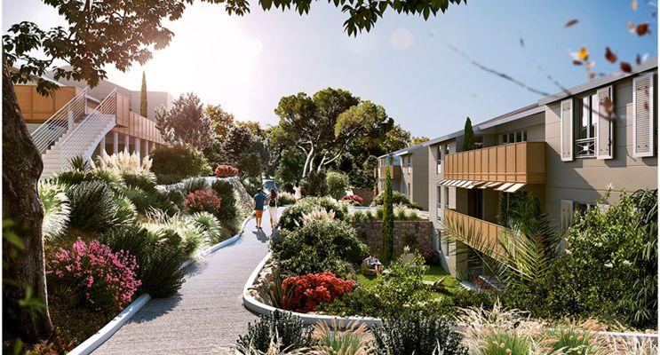 Résidence « Nuances De Provence » programme immobilier neuf en Loi Pinel à Peynier n°2
