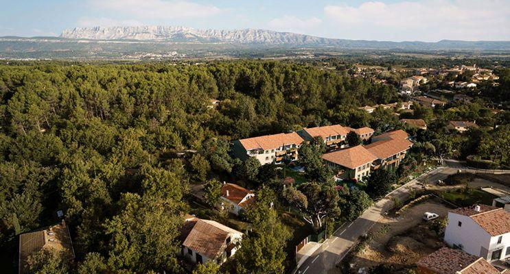 Résidence « Nuances De Provence » programme immobilier neuf en Loi Pinel à Peynier n°4