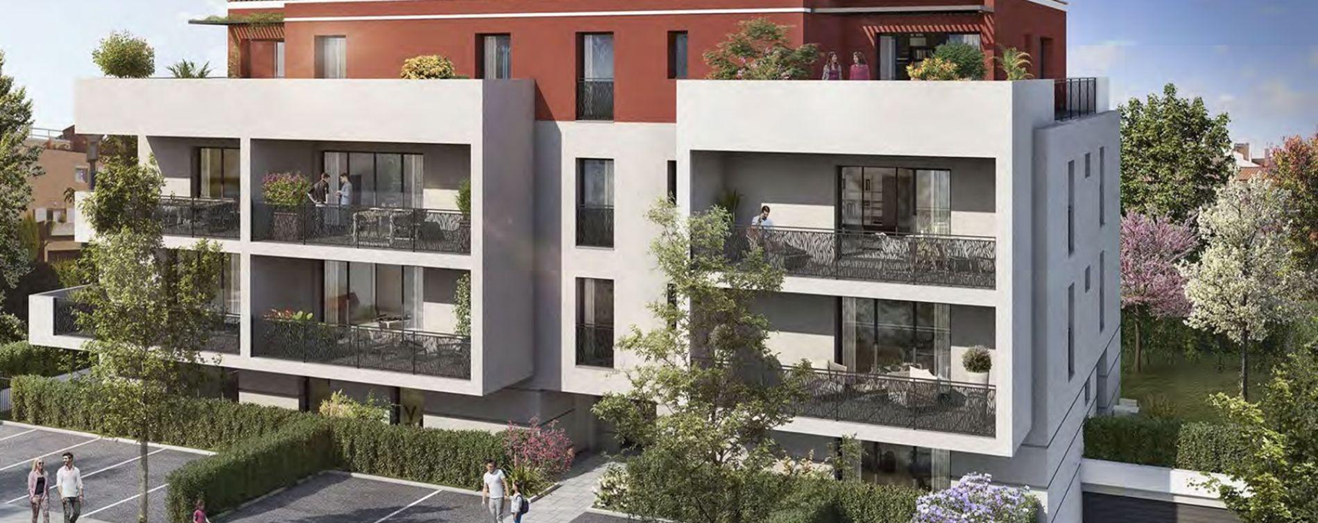 Plan-de-Cuques : programme immobilier neuve « Elia » (2)