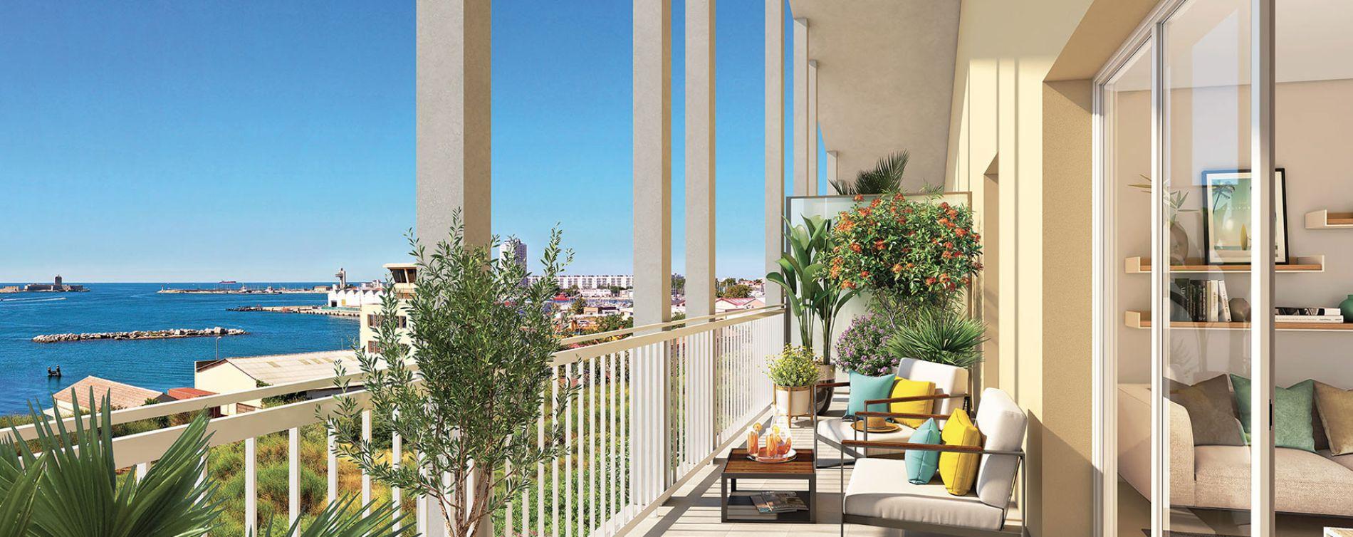 Port-de-Bouc : programme immobilier neuve « Domaine Bleu Nature » en Loi Pinel (2)
