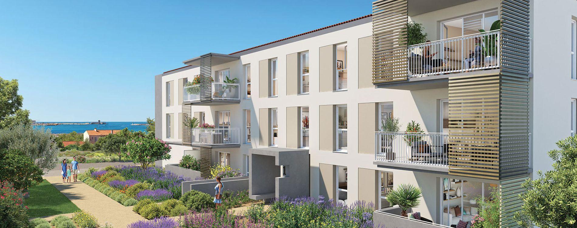 Port-de-Bouc : programme immobilier neuve « Domaine Bleu Nature » en Loi Pinel (3)