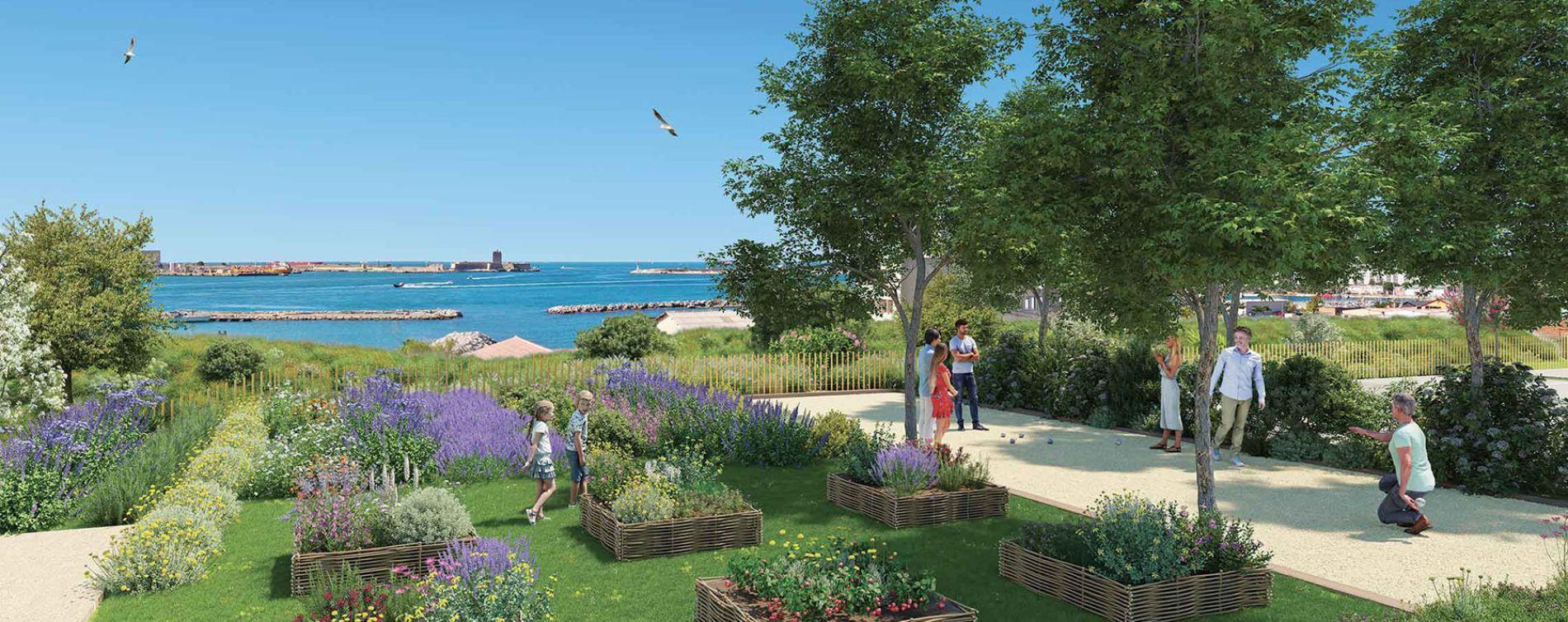 Port-de-Bouc : programme immobilier neuve « Domaine Bleu Nature » en Loi Pinel (4)