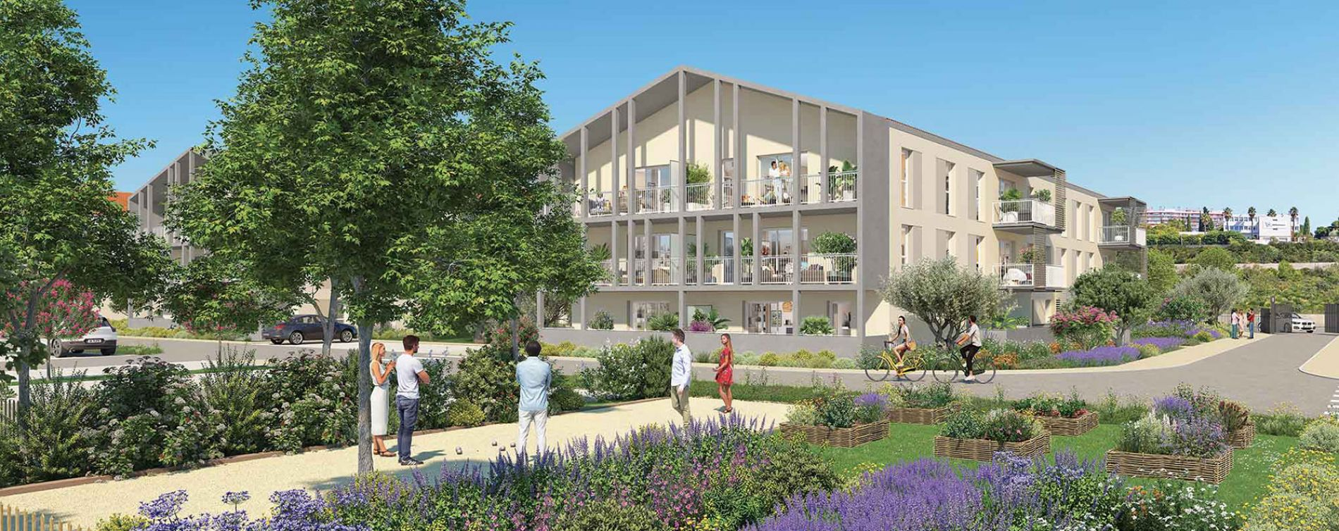 Port-de-Bouc : programme immobilier neuve « Domaine Bleu Nature » en Loi Pinel (5)