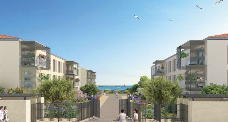 Port-de-Bouc : programme immobilier neuf « Domaine Bleu Nature » en Loi Pinel