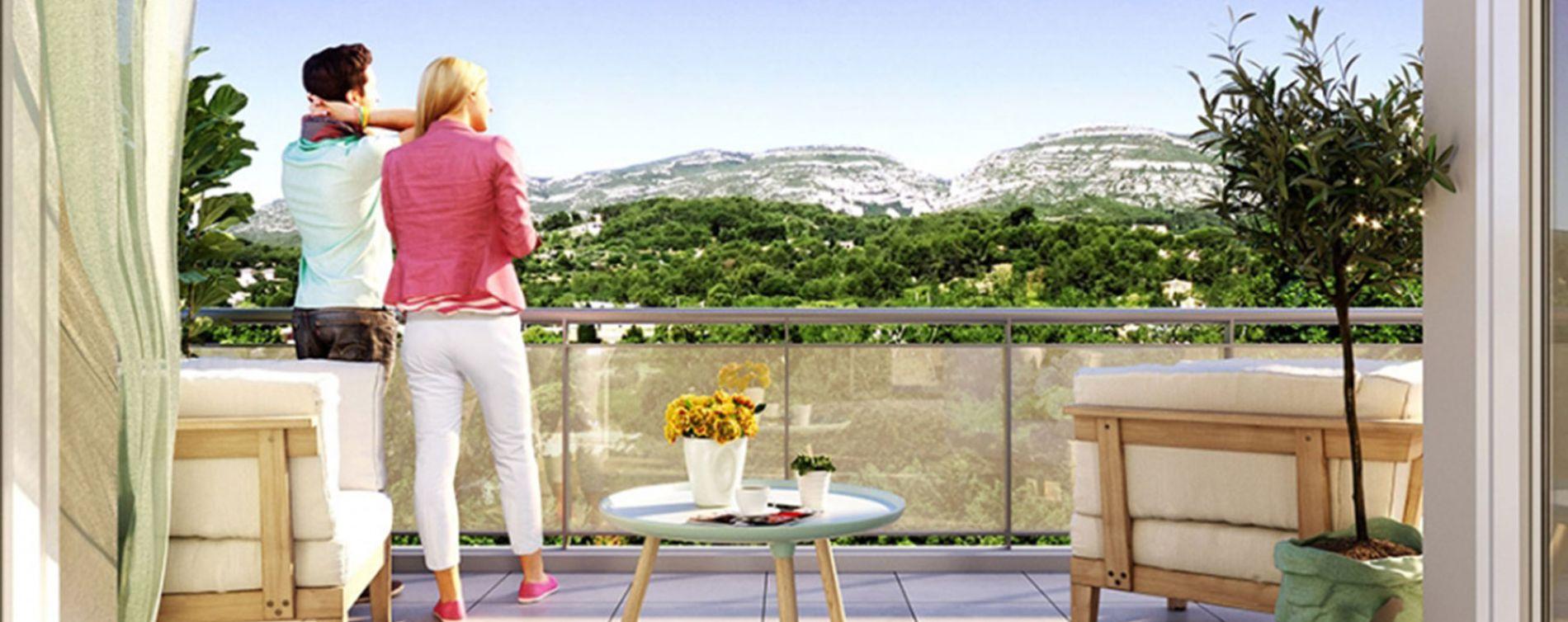 Roquevaire : programme immobilier neuve « Avant-Scène »