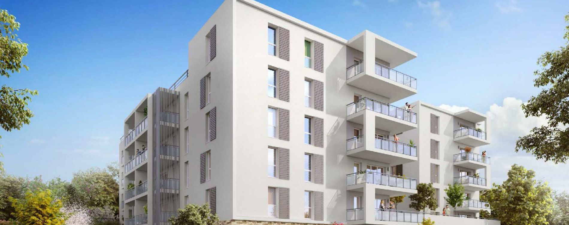 Roquevaire : programme immobilier neuve « Avant-Scène » (2)