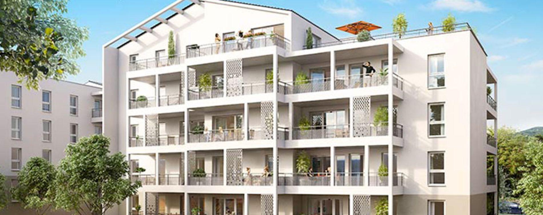 Roquevaire : programme immobilier neuve « Côté Collines » (2)