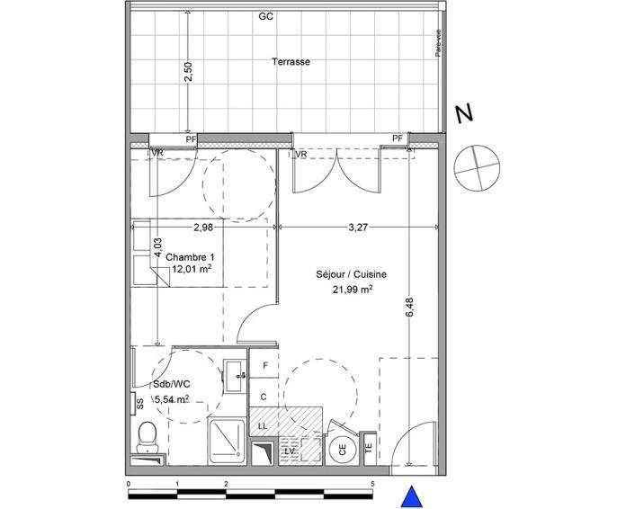 Plan T2 neuf à Roquevaire de