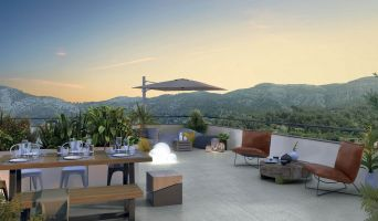Photo du Résidence « Côtés Rives » programme immobilier neuf en Loi Pinel à Roquevaire