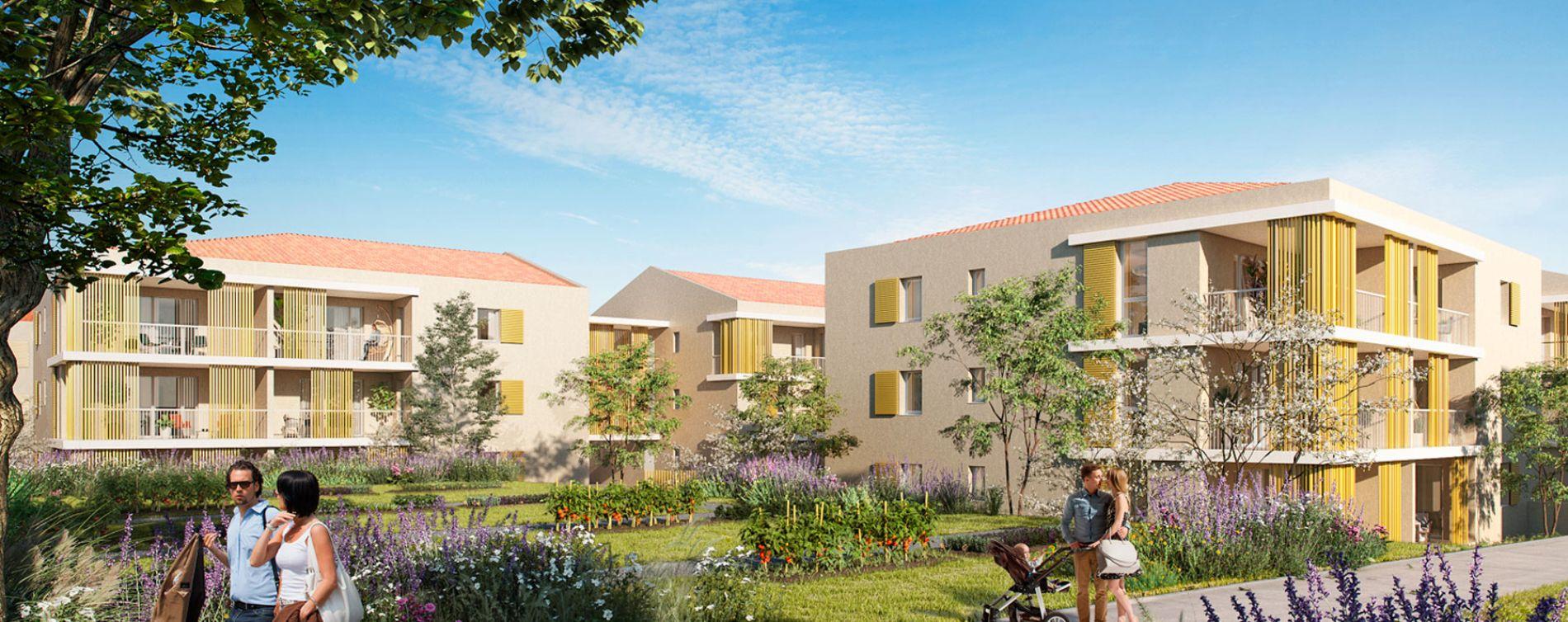 Venelles : programme immobilier neuve « Le Parc Velenna » en Loi Pinel