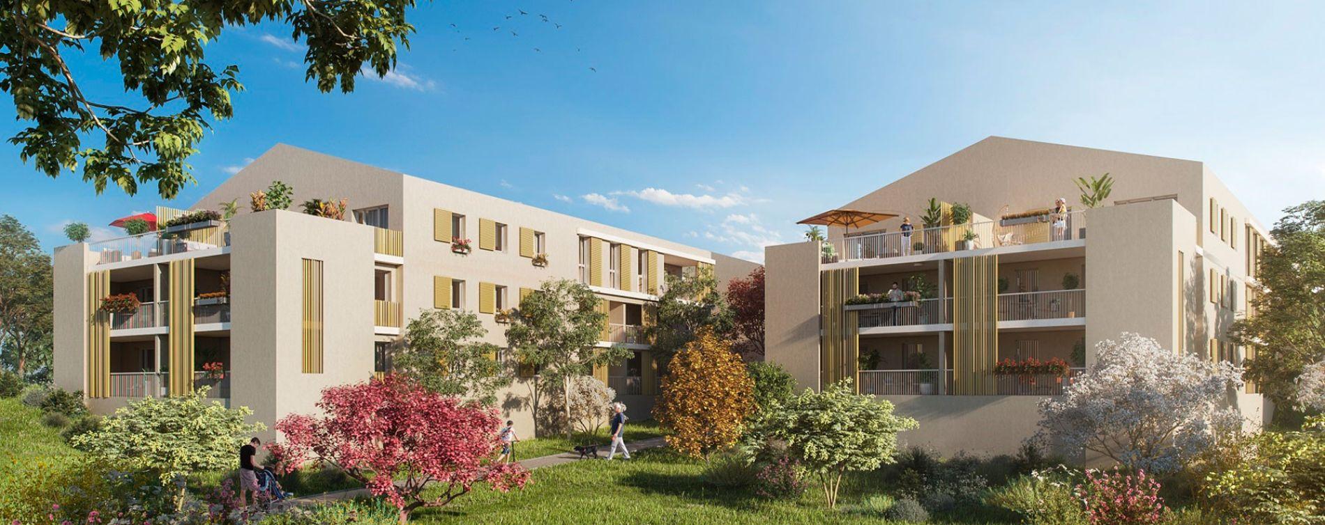 Venelles : programme immobilier neuve « Le Parc Velenna » en Loi Pinel (3)
