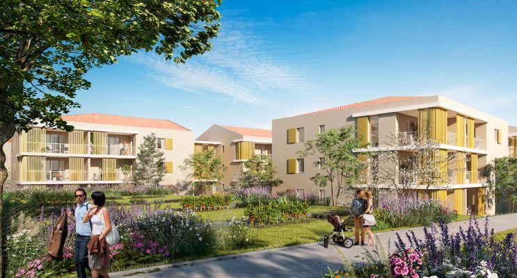Venelles : programme immobilier neuf « Le Parc Velenna » en Loi Pinel