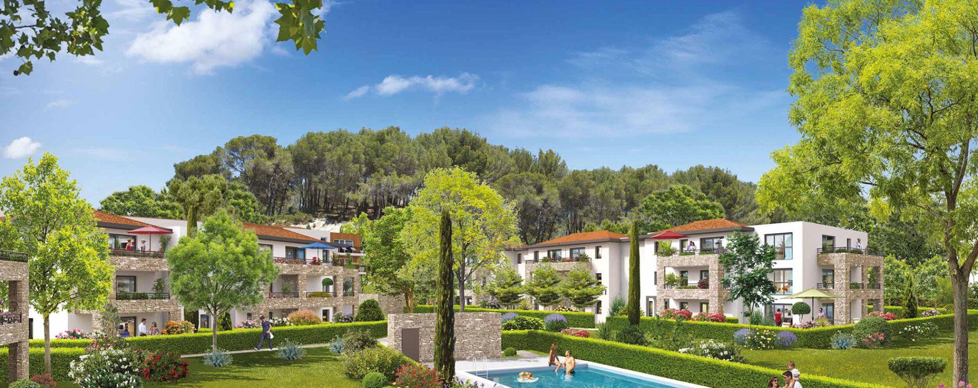 Résidence Domaine Castel Verde à Ventabren