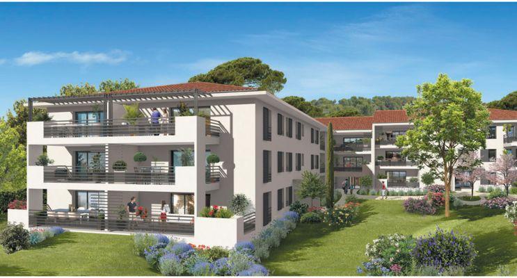 Ventabren programme immobilier neuf « Horizon Naturel » en Loi Pinel