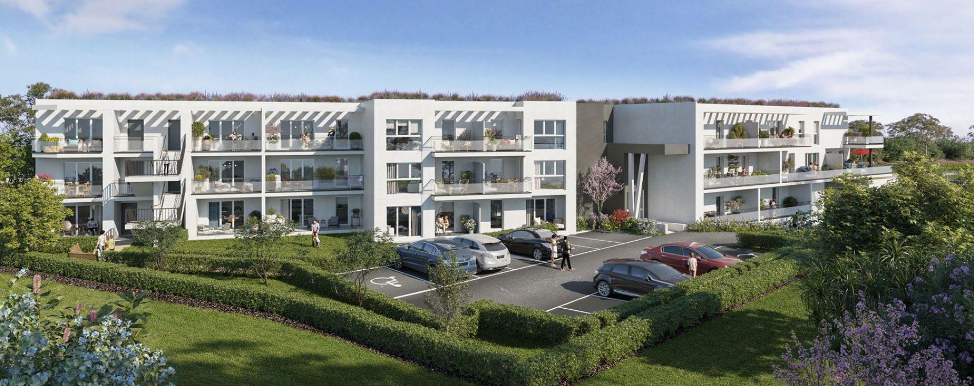 Vitrolles : programme immobilier neuve « Le Rocher Blanc »