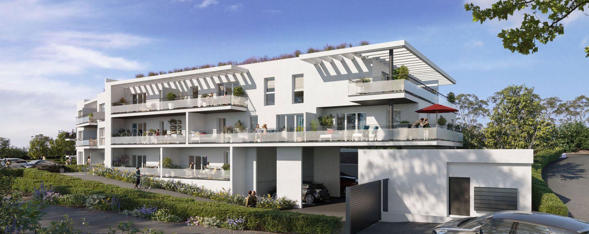 Vitrolles : programme immobilier neuve « Le Rocher Blanc » (2)