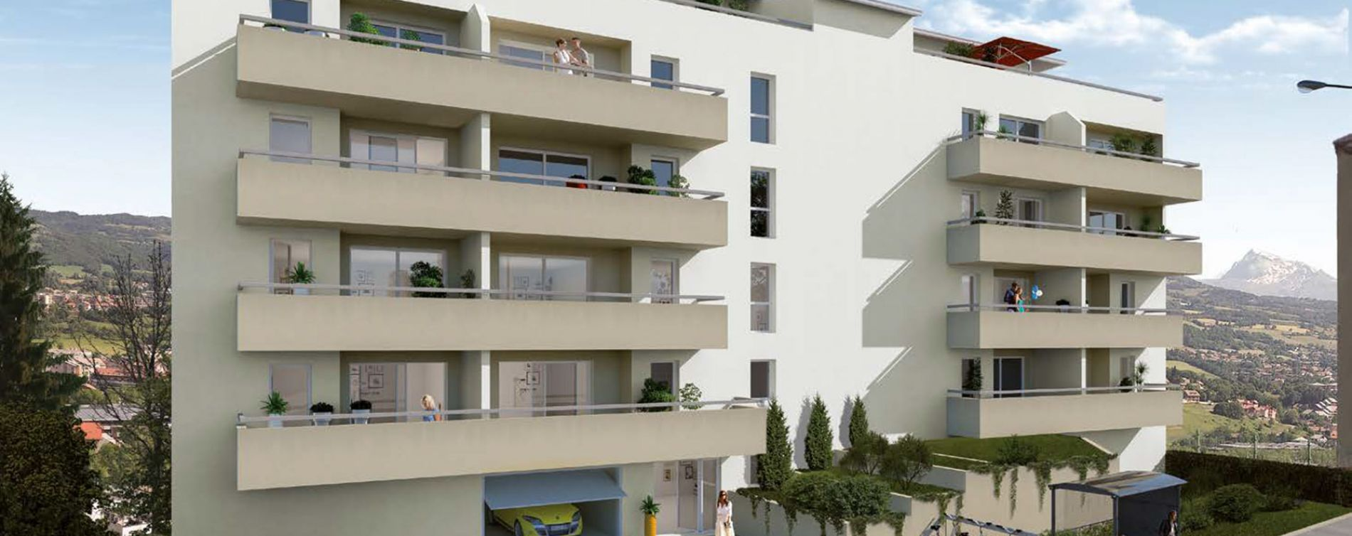Gap : programme immobilier neuve « Carré Théa » (2)
