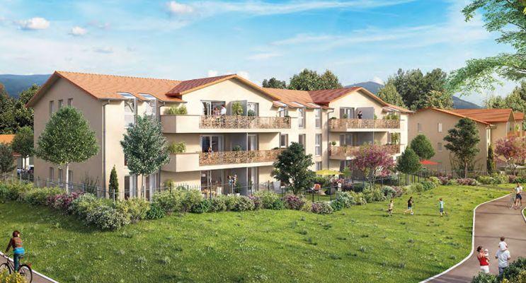 Photo du Résidence « Les Jardins de Clémence » programme immobilier neuf à Gap