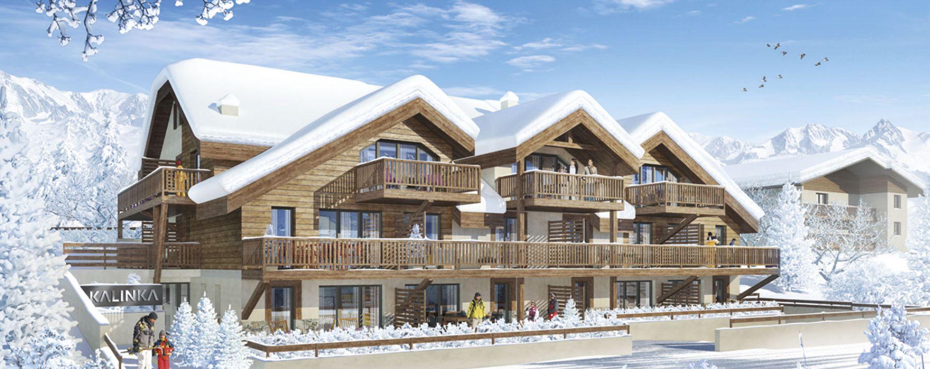 Saint-Chaffrey : programme immobilier neuve « Kalinka » (2)