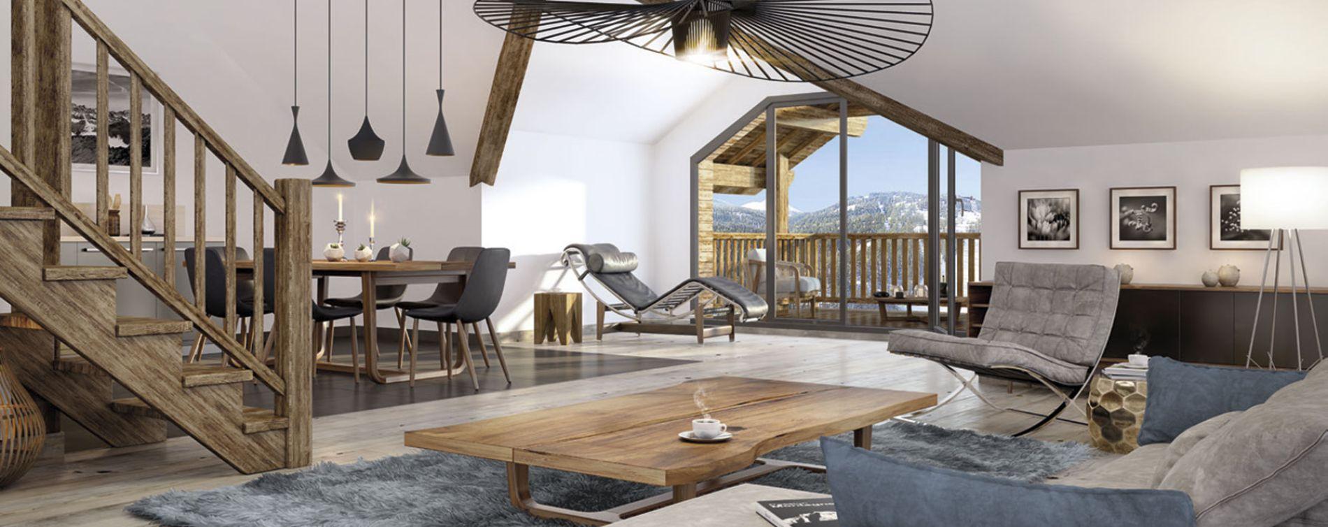 Saint-Chaffrey : programme immobilier neuve « Kalinka » (3)
