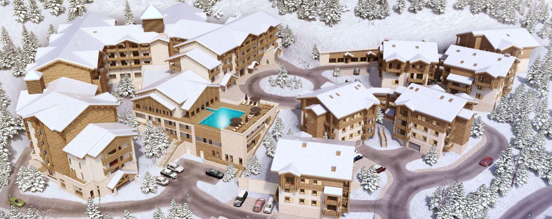 Résidence L'Alpe Blanche à Vars