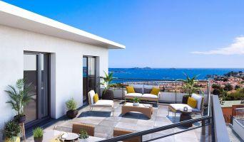 Bandol programme immobilier neuve « L'Échappée » en Loi Pinel