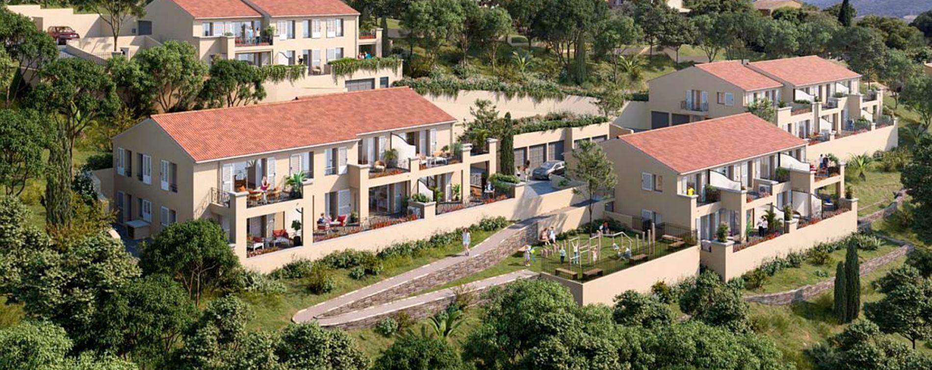Résidence Les Bastides de Bormes à Bormes-les-Mimosas