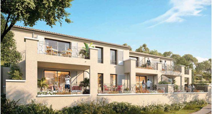 Résidence « Les Bastides De Bormes » programme immobilier neuf en Nue Propriété à Bormes-les-Mimosas n°2