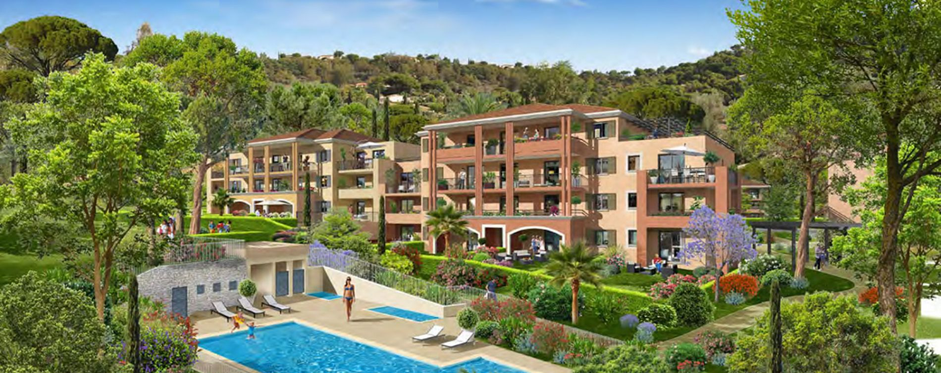 Bormes-les-Mimosas : programme immobilier neuve « Loderi »