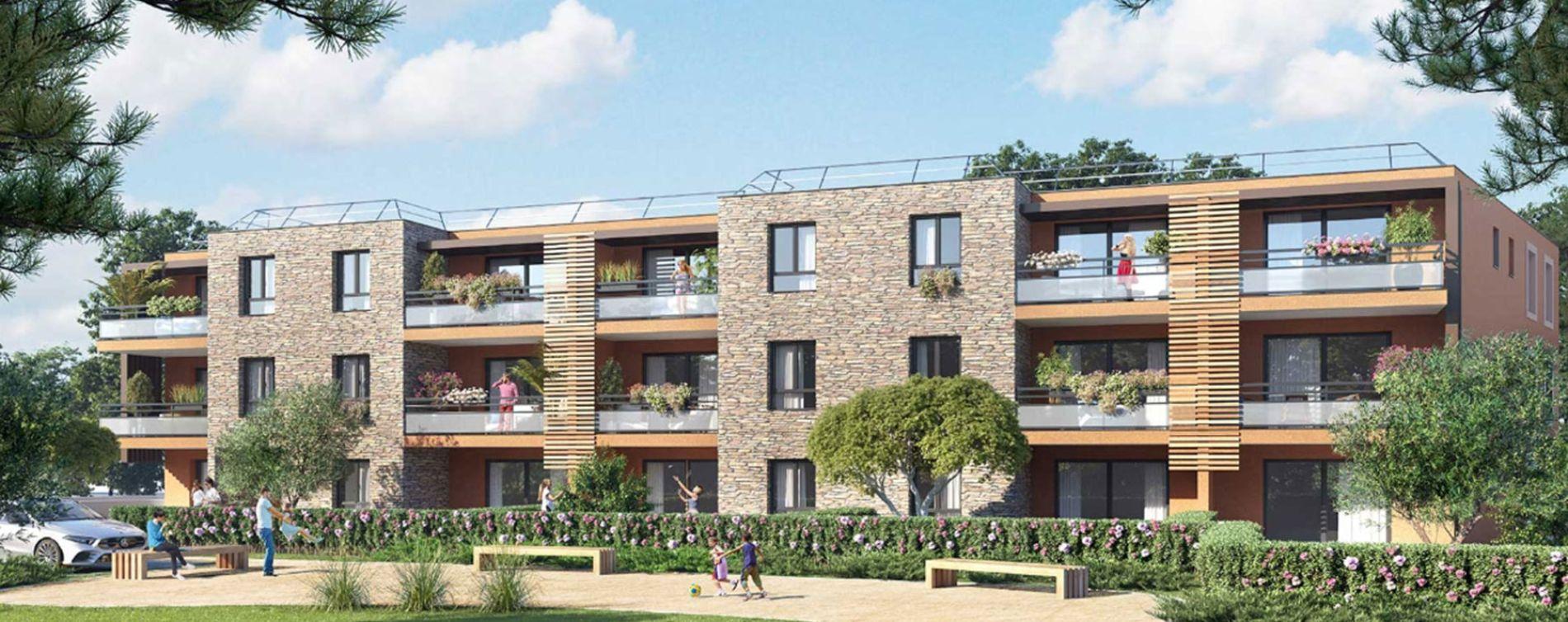 Bormes-les-Mimosas : programme immobilier neuve « Made in Mimosas » en Loi Pinel