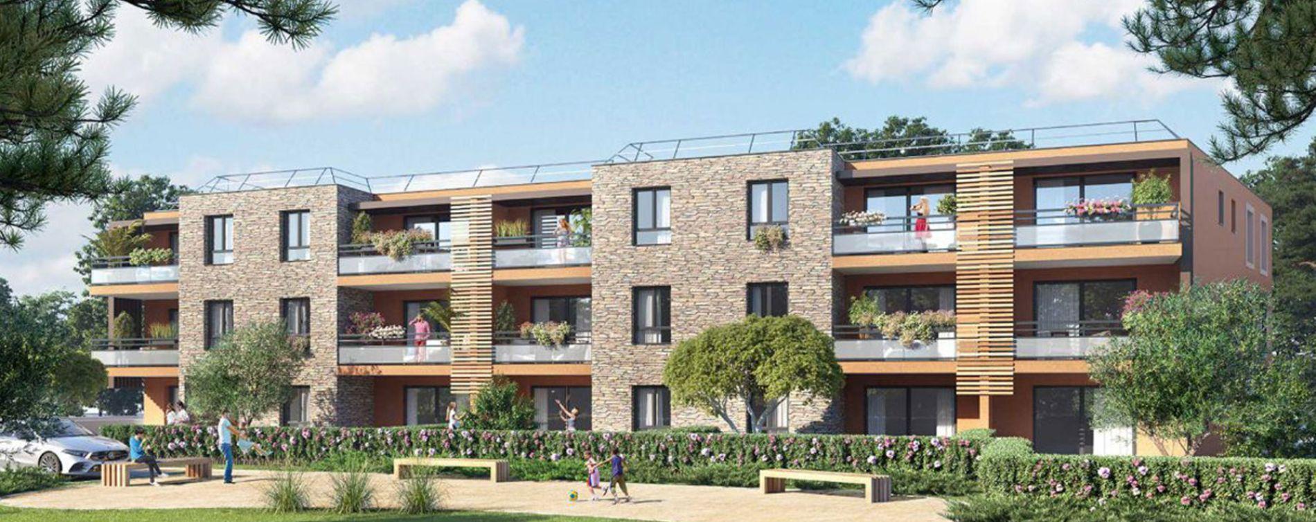 Bormes-les-Mimosas : programme immobilier neuve « Mim » en Loi Pinel