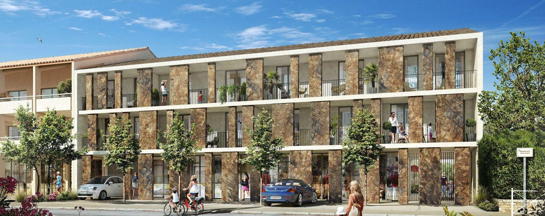 Bormes-les-Mimosas : programme immobilier neuve « Origine Levant » en Loi Pinel
