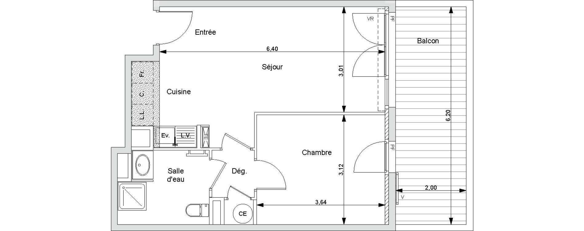 Plan T2 neuf à Bormes-les-Mimosas de