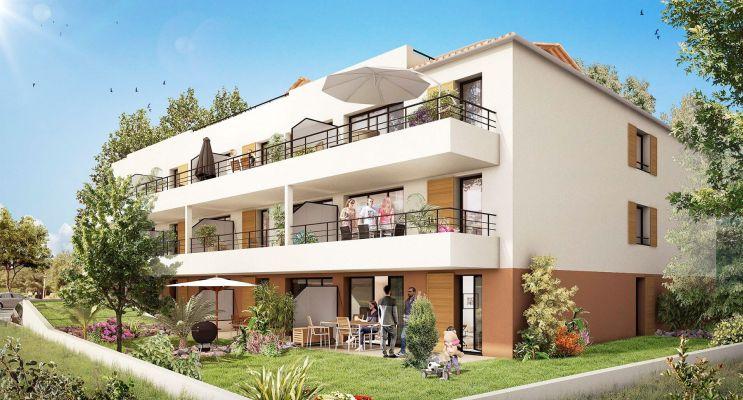 Résidence « Pin Paradis » programme immobilier neuf en Loi Pinel à Bormes-les-Mimosas n°2