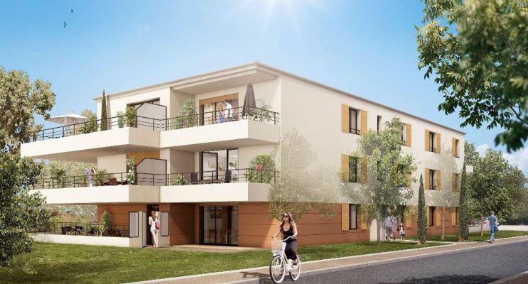 Résidence « Pin Paradis » programme immobilier neuf en Loi Pinel à Bormes-les-Mimosas n°3