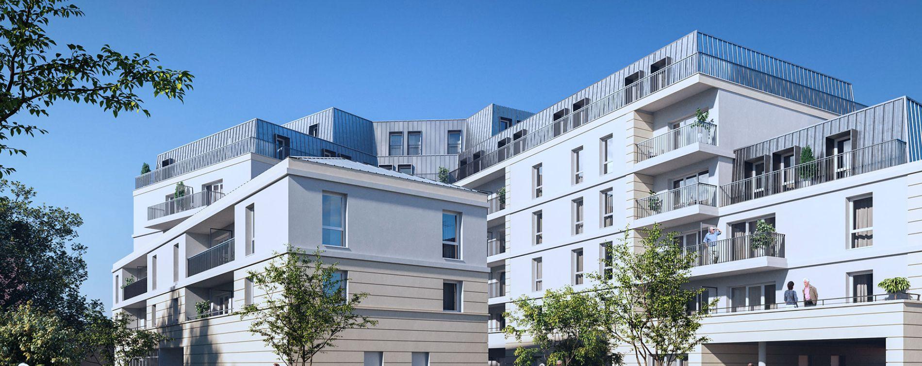 Brignoles : programme immobilier neuve « Esprit Village » en Loi Pinel (2)