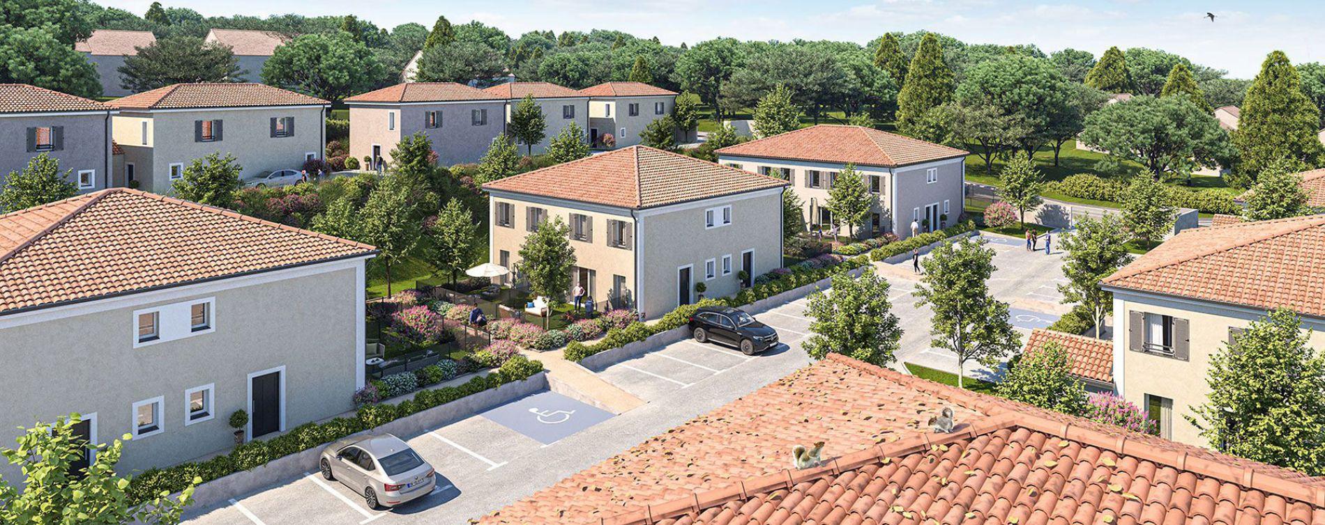 Brignoles : programme immobilier neuve « Les Bastides de Tombarel »