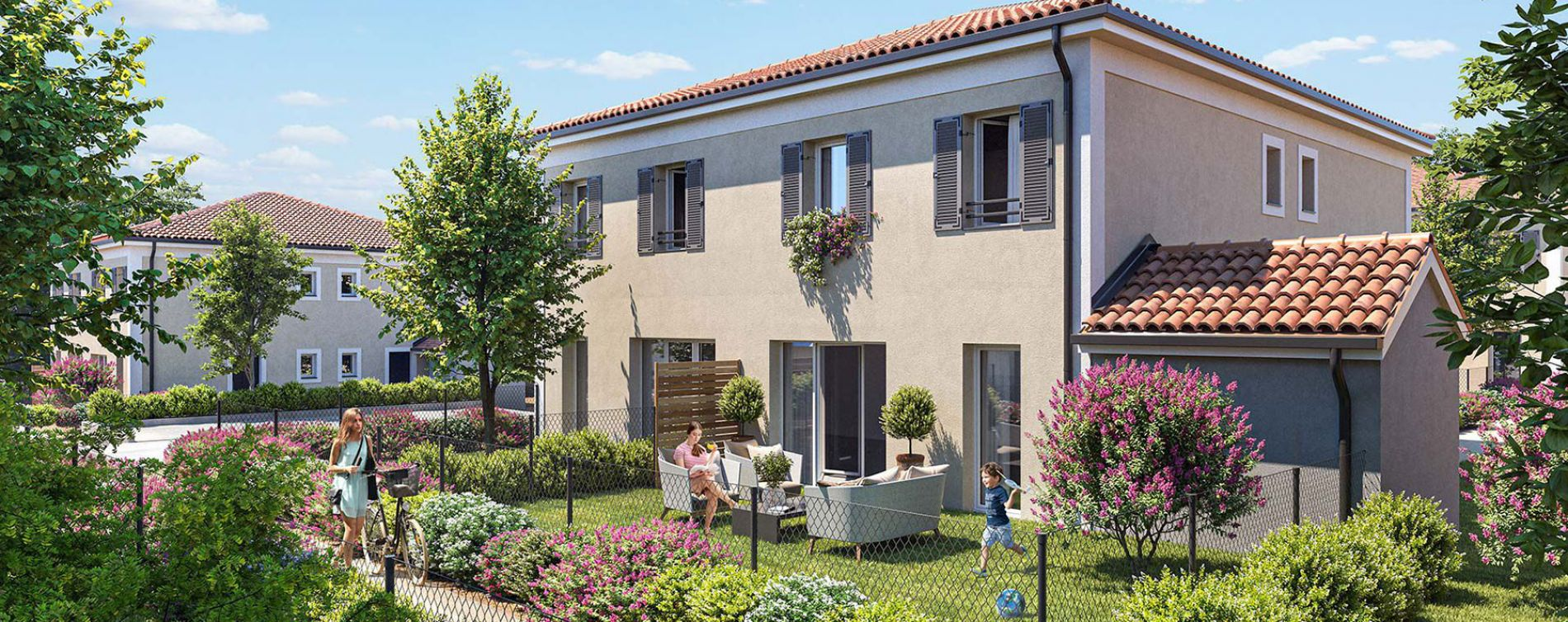 Brignoles : programme immobilier neuve « Les Bastides de Tombarel » (2)