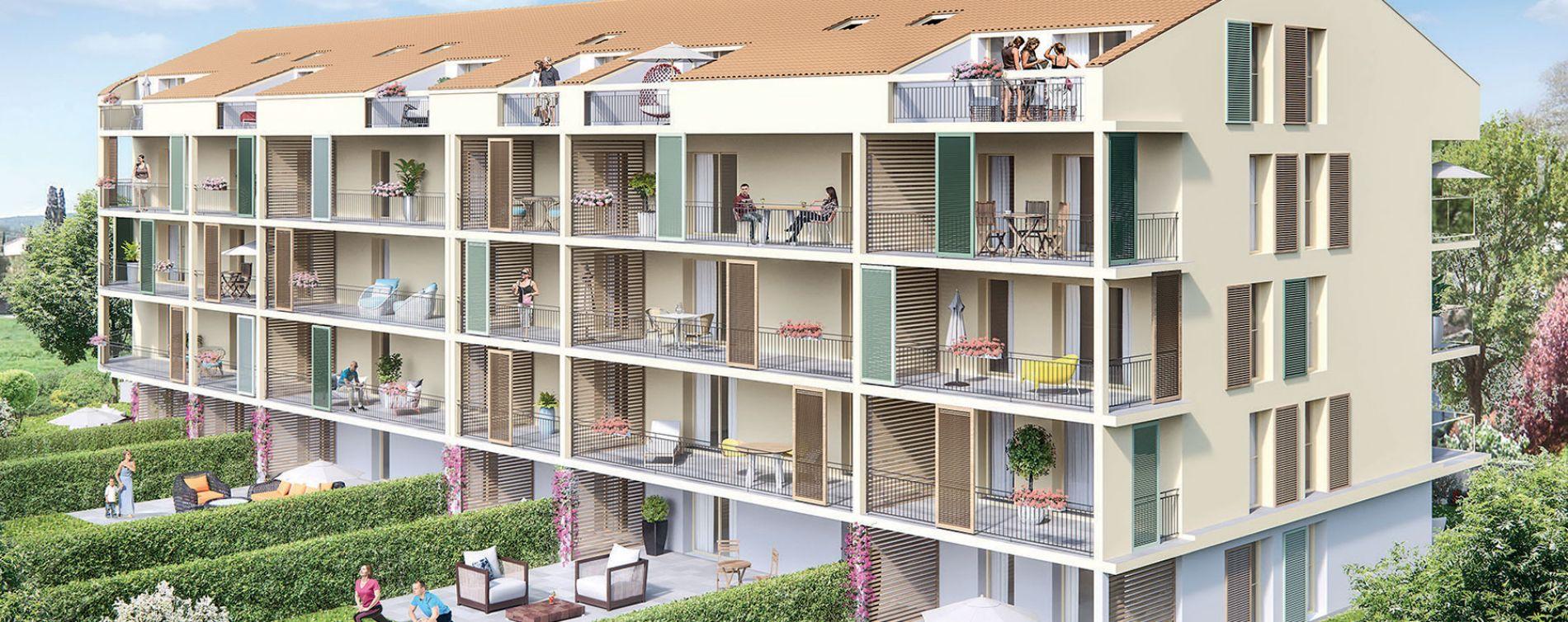 Brignoles : programme immobilier neuve « Les Terrasses de Provence » en Loi Pinel